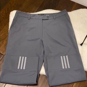Adidas Climacool stretch grey capri pants size 10